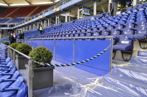 HSV UEFA Endspiel Abtrennung