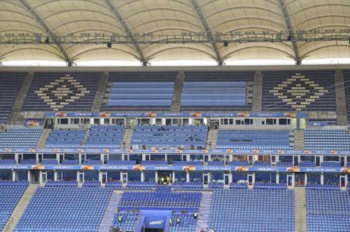 HSV UEFA Endspiel Erweiterung Pressebereich