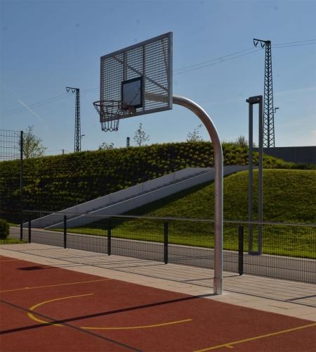 Basketball- Streetball-Ständer