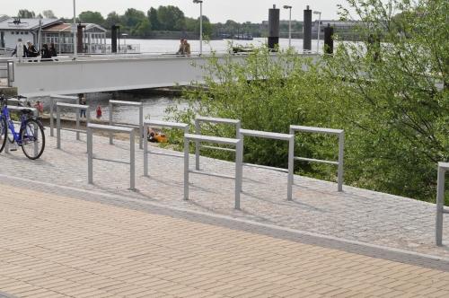 Fahrradbügel Elbe