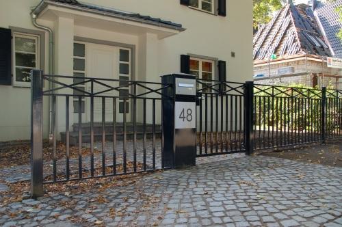 Frontgitter Babendiek