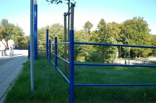 Geländer Volkspark
