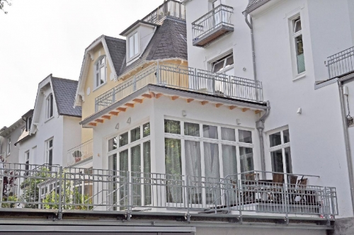 Geländer Werderstraße